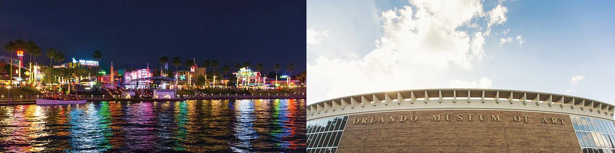 Orlando City Walk and Art Museum
